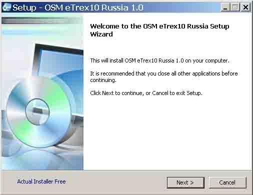 Garmin eTrex 10 Software